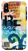 Carousel #7 Surf - Contemporary Abstract Art IPhone X Tough Case