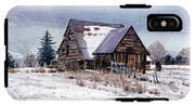 Cache Valley Barn IPhone X Tough Case