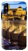 Cathedral Mosque And Roman Bridge In Cordoba IPhone X Tough Case