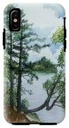 Cathedral Point - Trout Lake IPhone X Tough Case