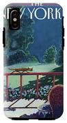 Cats Night IPhone X Tough Case