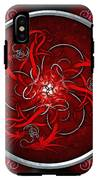 Celtic Dragons - Red IPhone X Tough Case