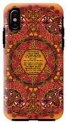 Celtic Fall Fairy Mandala IPhone X Tough Case