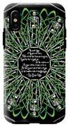 Celtic Flower Of Death IPhone X Tough Case