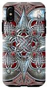 Celtic Hearts - Red IPhone X Tough Case