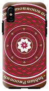 Celtic Lotus Mandala In Pink And Brown IPhone X Tough Case