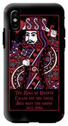 Celtic Queen Of Hearts Part IIi The King Of Hearts IPhone X Tough Case