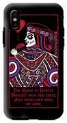 Celtic Queen Of Hearts Part Iv The Broken Knave IPhone X Tough Case