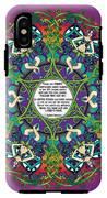 Celtic Spring Fairy Mandala IPhone X Tough Case