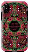 Celtic Summer Fairy Mandala IPhone X Tough Case