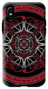 Celtic Vampire Bat Mandala IPhone X Tough Case