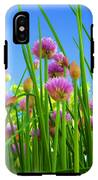 Chive Flowers And Buds IPhone X Tough Case