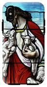 Christ The Good Shepherd With His Flock IPhone X Tough Case