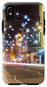 Christmas In Oxford Street IPhone X Tough Case