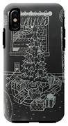 Christmas Scene IPhone X Tough Case