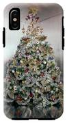 Christmas Tree Decorated By Gloria Vanderbilt IPhone X Tough Case