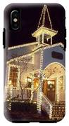 Church In Dollywood At Christmas IPhone X Tough Case