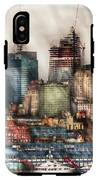 City - Hoboken Nj - New York Skyscrapers IPhone X Tough Case