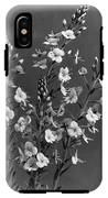 Close Up Of Gentian Speedwell Flowers IPhone X Tough Case