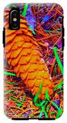 Colorful Pinecone IPhone X Tough Case