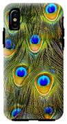 Colorful Plumage Of Peacock IPhone X Tough Case