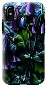 Columbine In The Woods IPhone X Tough Case