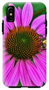 Cone Flower An Bumble  IPhone X Tough Case