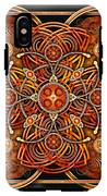 Copper And Gold Celtic Cross IPhone X Tough Case