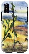 Corn Field By The Sea IPhone X Tough Case
