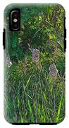 Cotton Monkey Heads IPhone X Tough Case