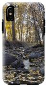 Cottonwood Creek Near Deer Lodge Montana IPhone X Tough Case
