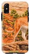 Cougar - Don't Move IPhone X Tough Case