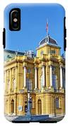 Croatian National Theater In Zagreb IPhone X Tough Case