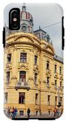 Croatian Railways Administration Building In Zagreb  IPhone X Tough Case