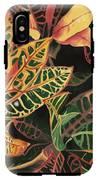Croton Leaves IPhone X Tough Case