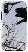Crow In Flight IPhone X Tough Case