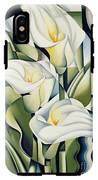 Cubist Lilies IPhone X Tough Case