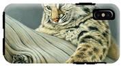 Curiosity - Young Bobcat IPhone X Tough Case