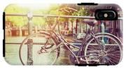 Cycle In Sun IPhone X Tough Case