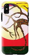Dancing Trees IPhone X Tough Case