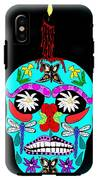 Day Of The Dead Sugar Skull IPhone X Tough Case