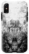 Deep Forest Quote  IPhone X Tough Case