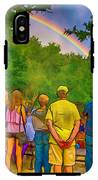 Drum Circle Rainbow IPhone X Tough Case