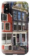 Dutch Style Traditional Houses In Amsterdam IPhone X Tough Case