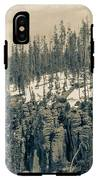 Yellowstone In The Snow IPhone X Tough Case