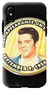 Elvis On Ed Sullivan IPhone X Tough Case