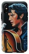 Elvis Presley 3 Painting IPhone X Tough Case