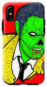 elvis presley Zombified IPhone X Tough Case