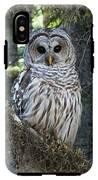Encounter With An Owl IPhone X Tough Case