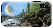 End Of Cretaceous Kt Event IPhone X Tough Case